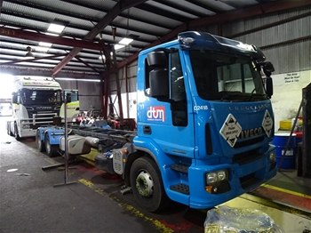 2014 Iveco SPA Cab Chassis Truck