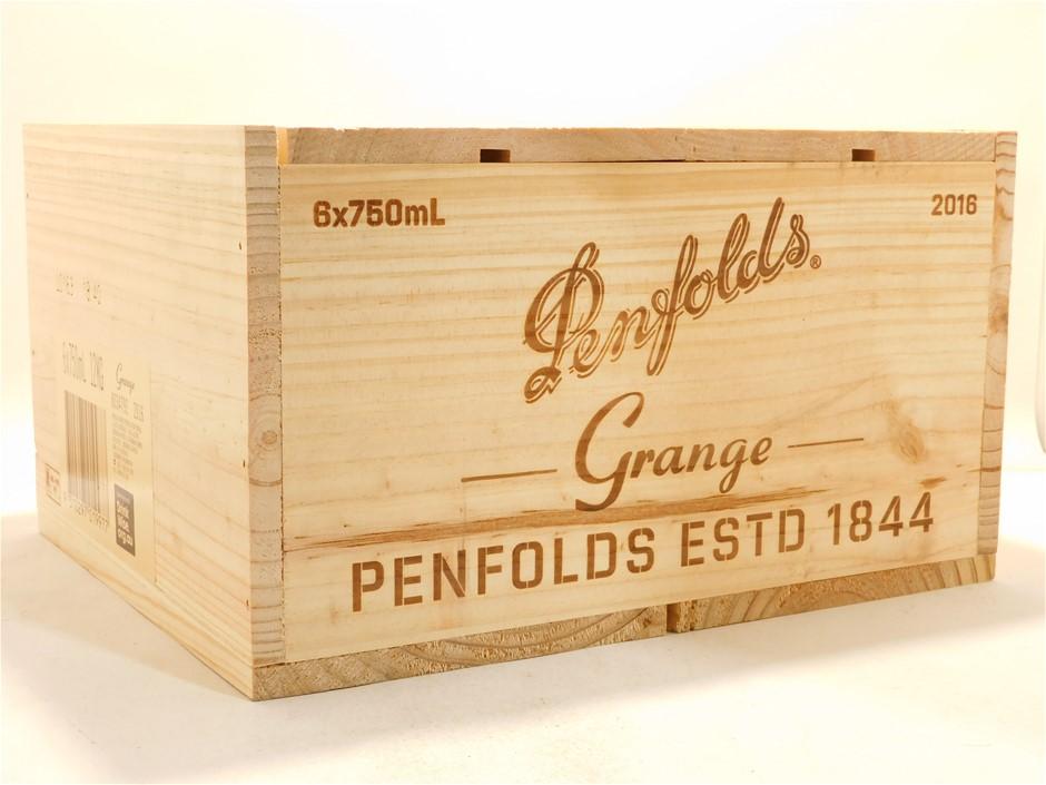 Penfolds Bin 95 Grange 2016 in Wooden Box (6x 750mL). SA.