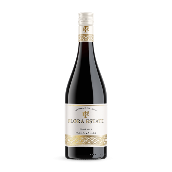 Flora Estate Yarra Valley Pinot Noir 2018 (12x 750mL)