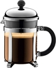 BODUM Coffee Maker French Press, Colour Chrome. Buyers Note - Discount Frei