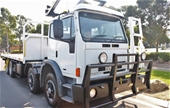 Unreserved 2006 Iveco 2350G ¾ Cab 8x4 X/Long Tray Truck