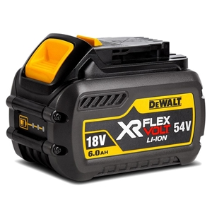 DeWALT 18V-54V 6.0Ah Flexvolt Battery. B