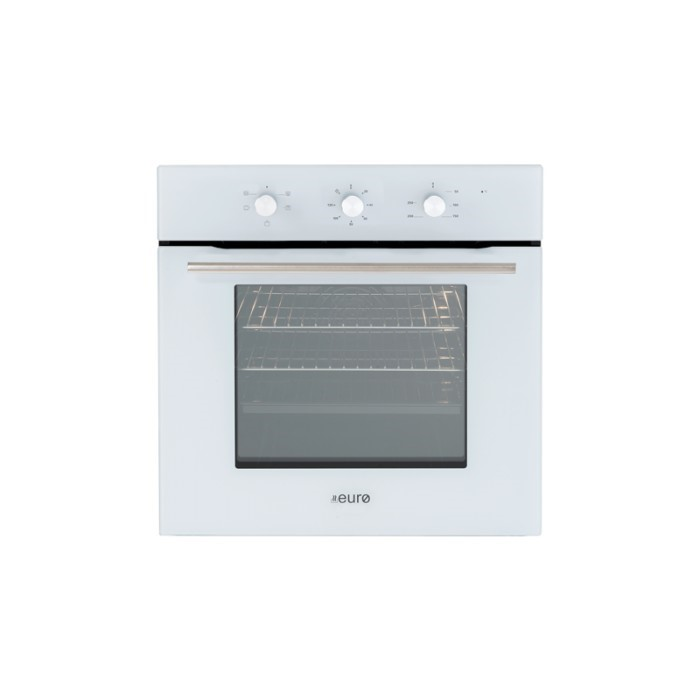 Euro 60cm White Electric Oven, Model: EO604WH
