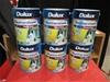 Qty 6 x Dulux 10 litre Paint
