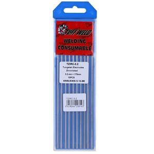 Pack of 10 x TUFF WELD Tungsten Electrod
