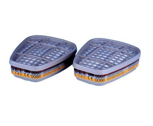 3 x Twin Packs 3M Combination Filters AB