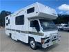 1989 Mitsubishi KC Canter Winnebago Camper Mobile Home