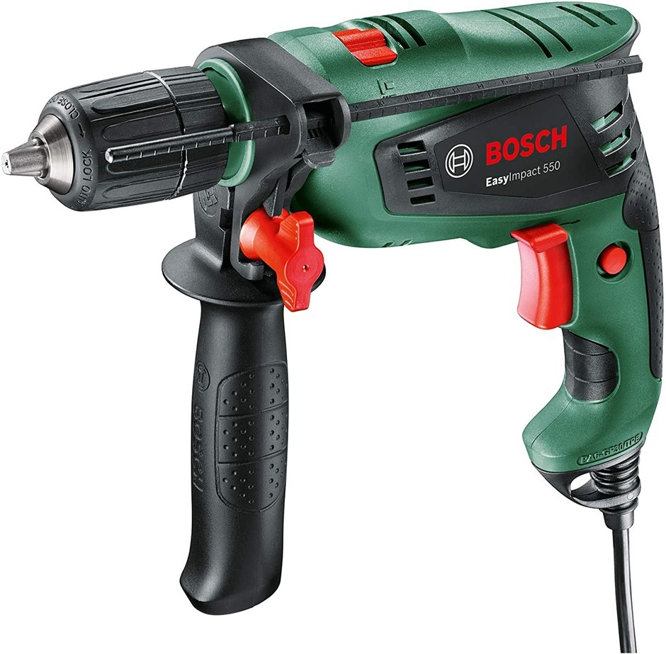 BOSCH 550W Electric Metric Hammer Impact Drill with Auxiliary Handle. Buyer