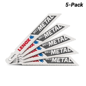 Pack of 5 x LENOX Jigsaw Blades, 114mm,