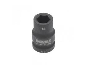 DeWALT 1/2`` Drive Impact Socket 21mm Cr