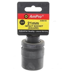 AmPro 3/4ins Dr. Square Impact Socket, S