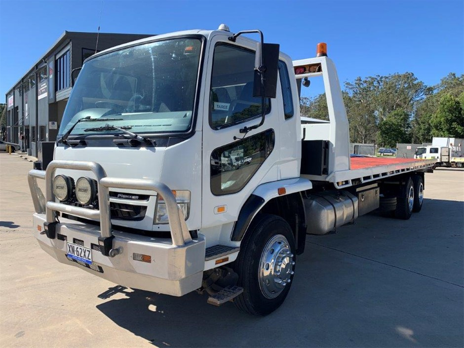 2008 Mitsubishi Fuso 4056 Fighter 14 FN64 Tilt Tray Tow Truck