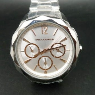 Ladies brand new Karl Lagerfeld Paris beautiful & classic chrono watch.