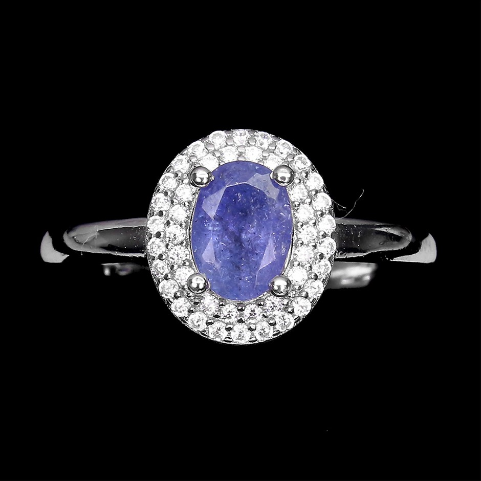 Superb Genuine Tanzanite Ring.