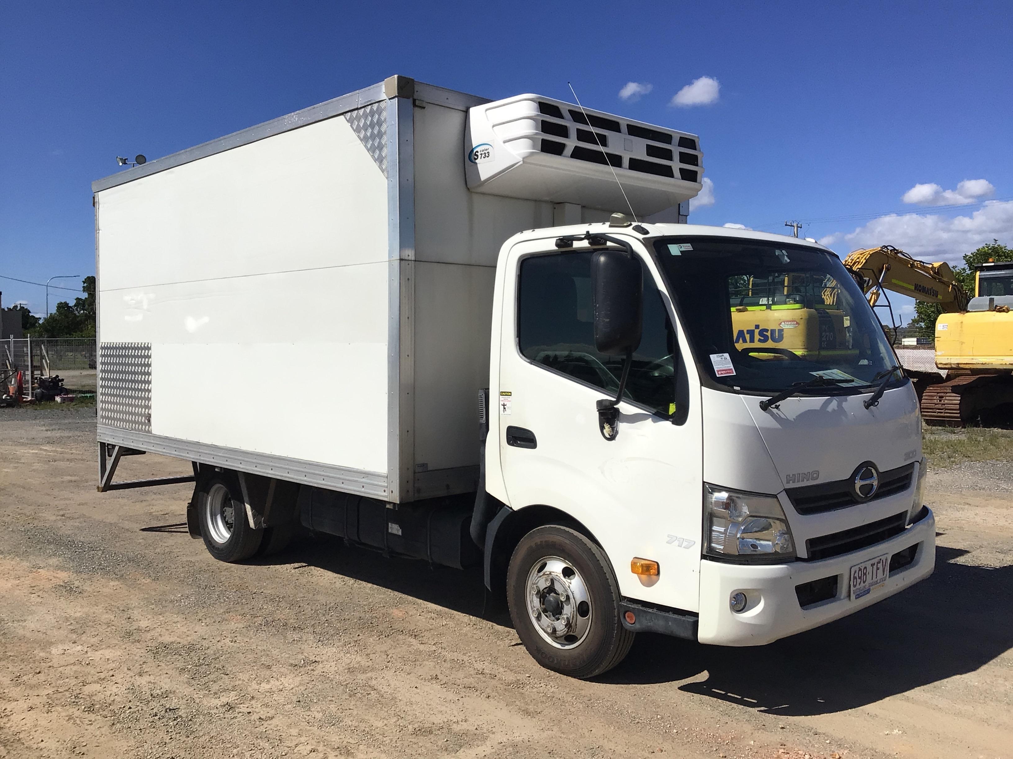 2013 Hino 300 4 x 2 Refrigerated Body Truck