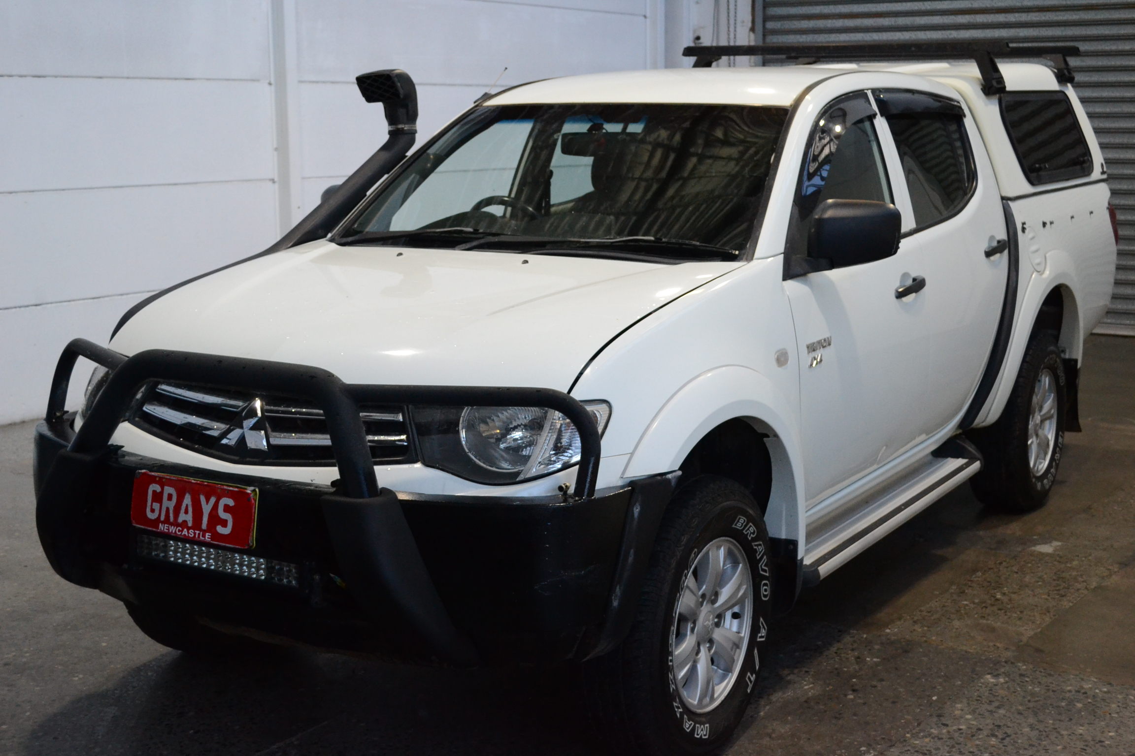 2011 Mitsubishi Triton 4X4 GLX MN Turbo Diesel Manual Dual Cab