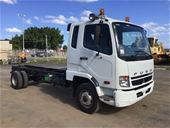 Unreserved 2010 Mitsubishi FK600 4 x 2 Cab Chassis Truck