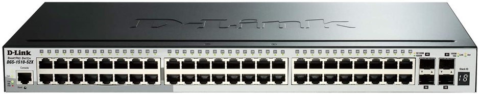 D-Link Systems 52-Port Gigabit SmartPro Stackable Switch (DGS-1510-52X)