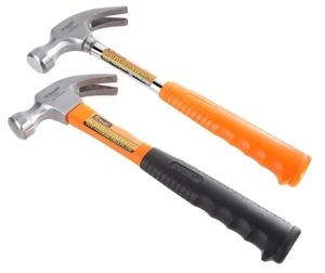 2 x ASAKI 16oz Claw Hammer, FibreGlass &