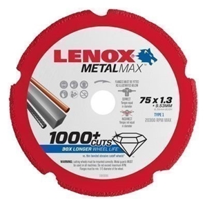LENOX Diamond Metal Cut-Off Disc, 200 x