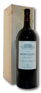 Monfort Bellevue Médoc 2015 Magnum Gift