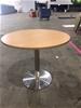 2 x Wooden Laminate Café Tables