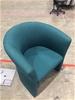 4 x Green Tub Chairs