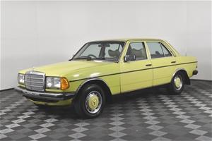 1977 Mercedes Benz 300 D Automatic Sedan