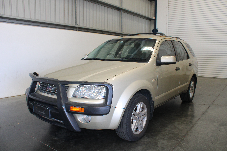 2006 Ford Territory Ghia 4WD Auto (Service History)