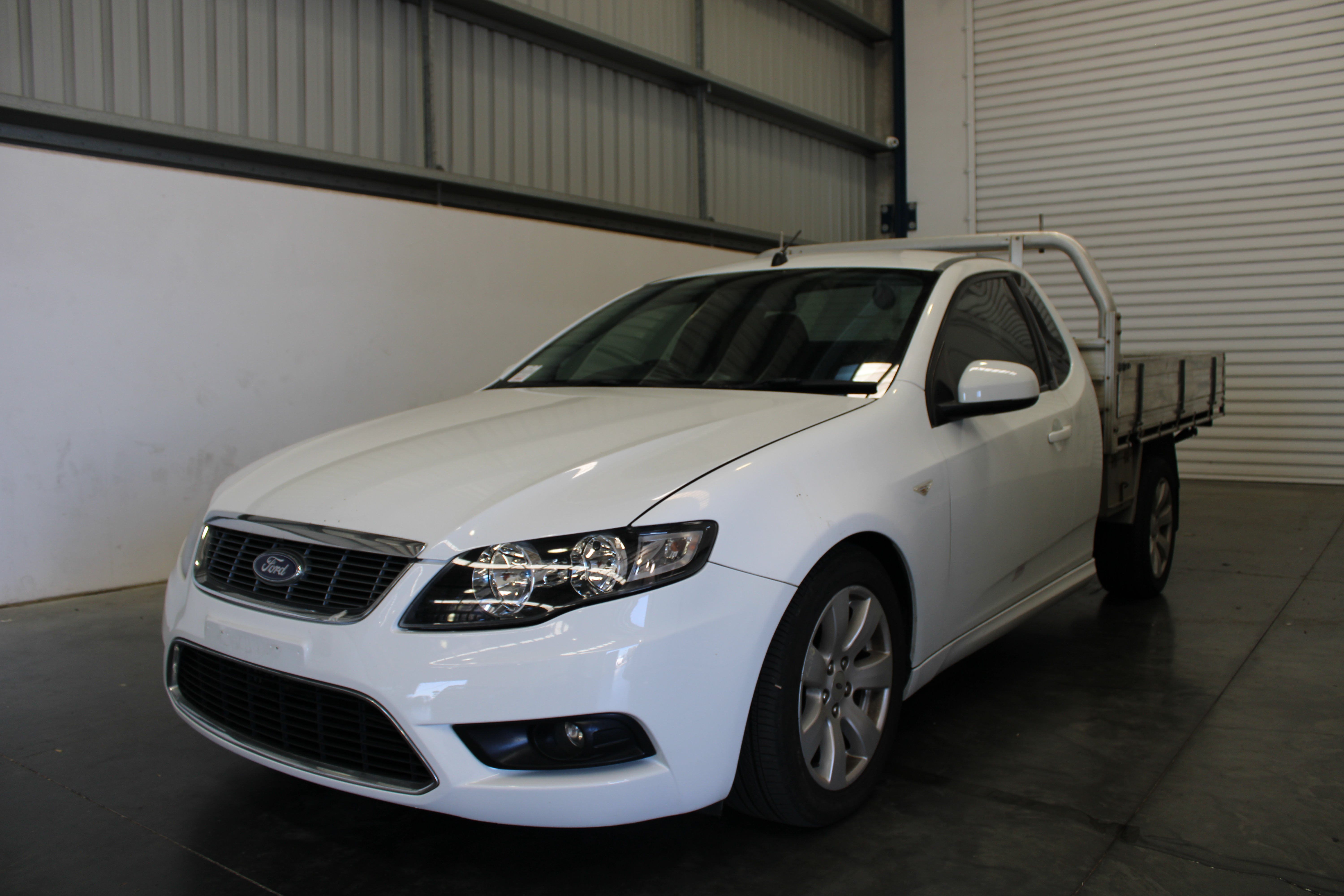 2010 Ford Falcon FG LPG Automatic Cab Chassis (WOVR - Inspected)