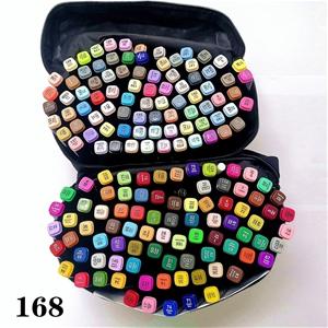 168 Colors Art Marker Set Dual Tips