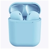 Wireless Bluetooth Earphones with Charging Case (Blue)