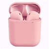 Wireless Bluetooth Earphones with Charging Case (Pink)