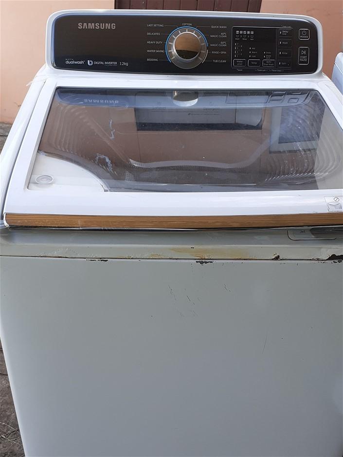 Samsung Dual Wash Digital Inverter Front Loader Washing Machine 12Kg