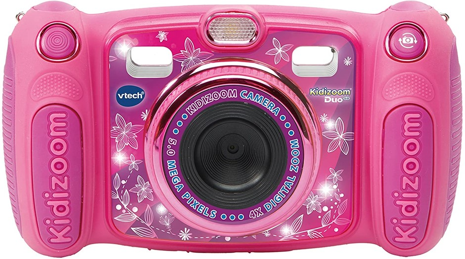 VTECH Kidizoom Duo 5.0 Camera NB: Used. (SN:B07CTSLL7J-U) (280908-76)