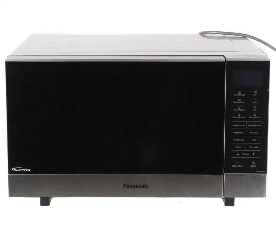 PANASONIC Stainless Steel Microwave Oven Model NN-SF5745. N.B. Not in Origi