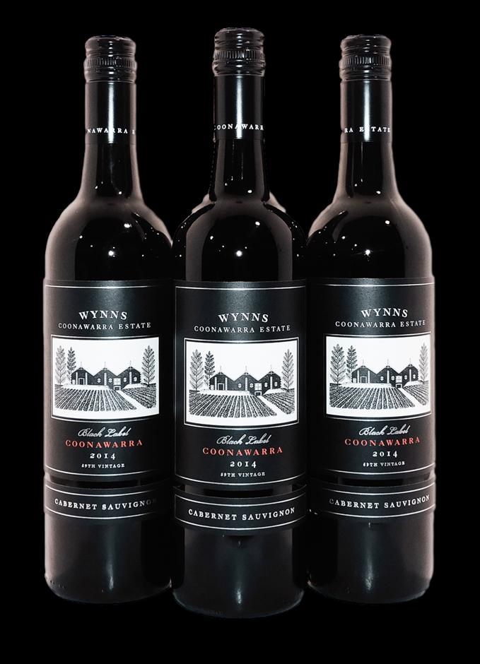 Wynns Black Label Cabernet Sauvignon 2014 (3x 750mL), Coonawarra