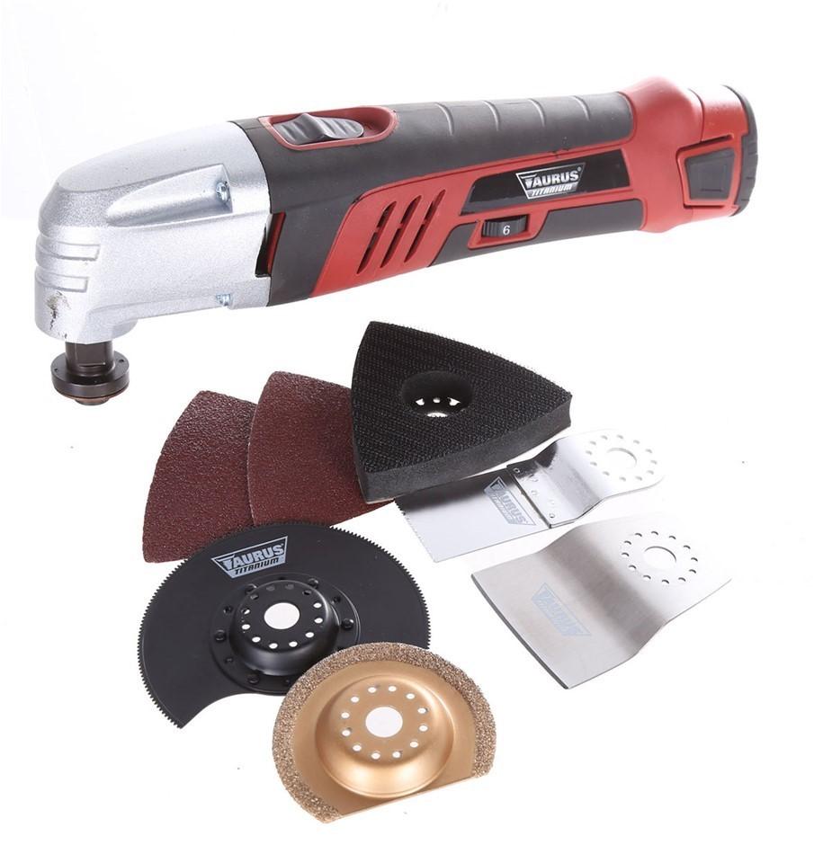 4 x Leading Brand 10.8V Cordless Mutli-Function Tool. (SN:AG-42598-K4) (281