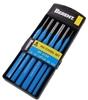 BERENT 6pc Pin Chisel Set 150mm, Sizes; 8x10, 6x10, 5x8, 4x8, 3x8, 1.5x6. B