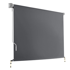 Instahut 3m x 2.5m Retractable Roll Down