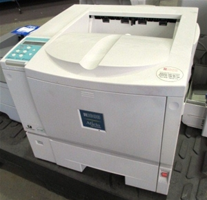 Printer-Ricoh Aficio AP400N, 1 x paper tray, no toner