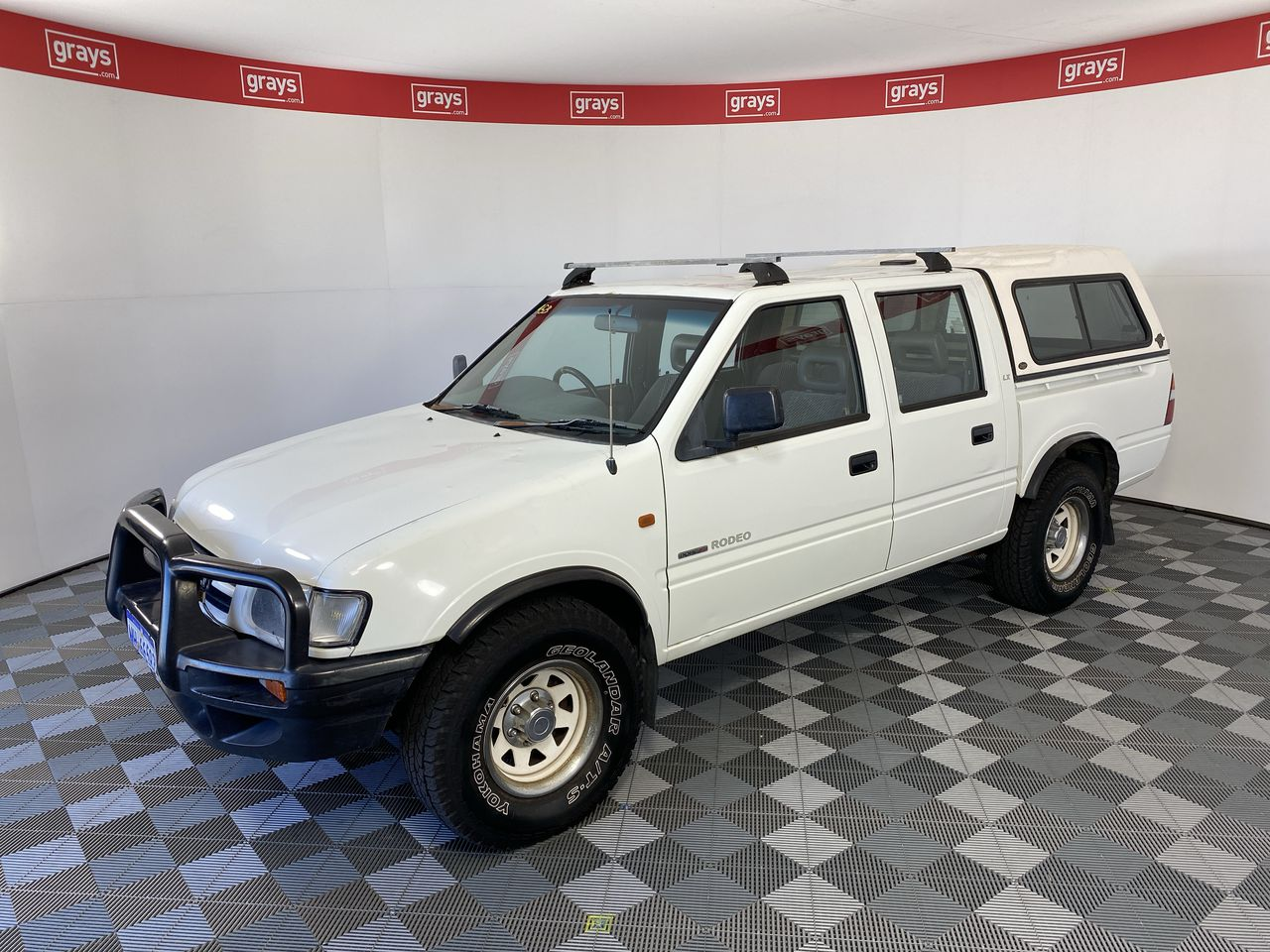 2000 Holden Rodeo LX R9 Dual/ Fuel Manual Dual Cab