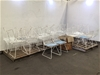 <p>32x Cafe Chairs </p>