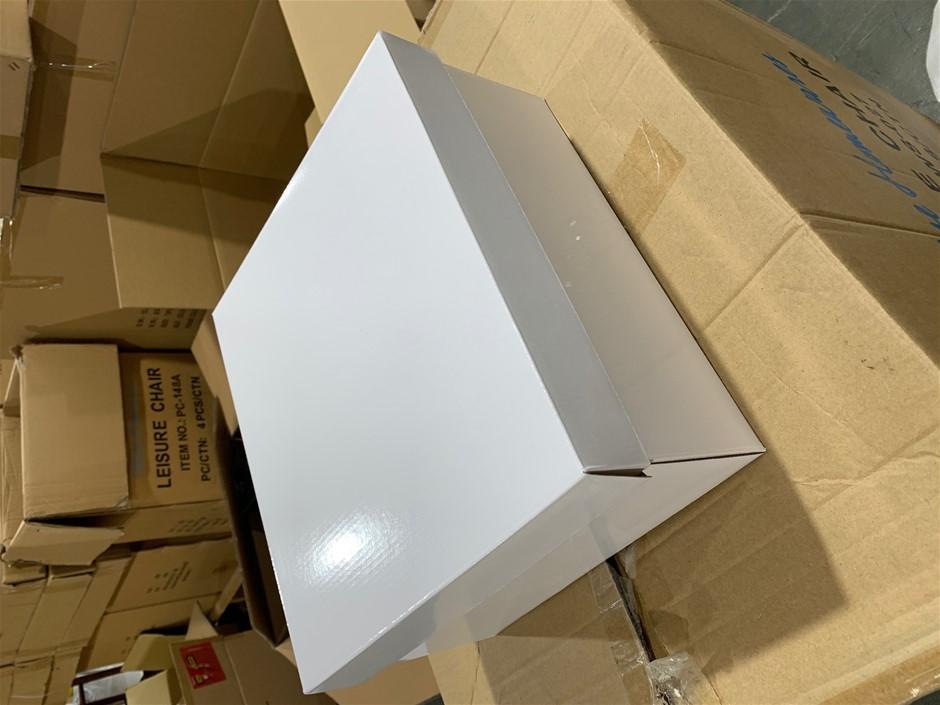 20 x White Gift Boxes (30 x 33 x 15cm)
