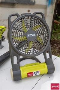 Ryobi CPF180G 18VDC 300mm(DIA) Floor Fan