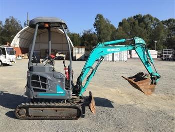Kobelco SK17SR Mini Excavator