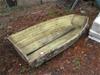 Fibreglass 7 Foot Tender Mould & Boat (Still in Mould)
