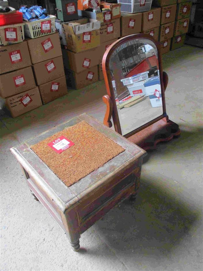 2x Timber Furniture Pieces