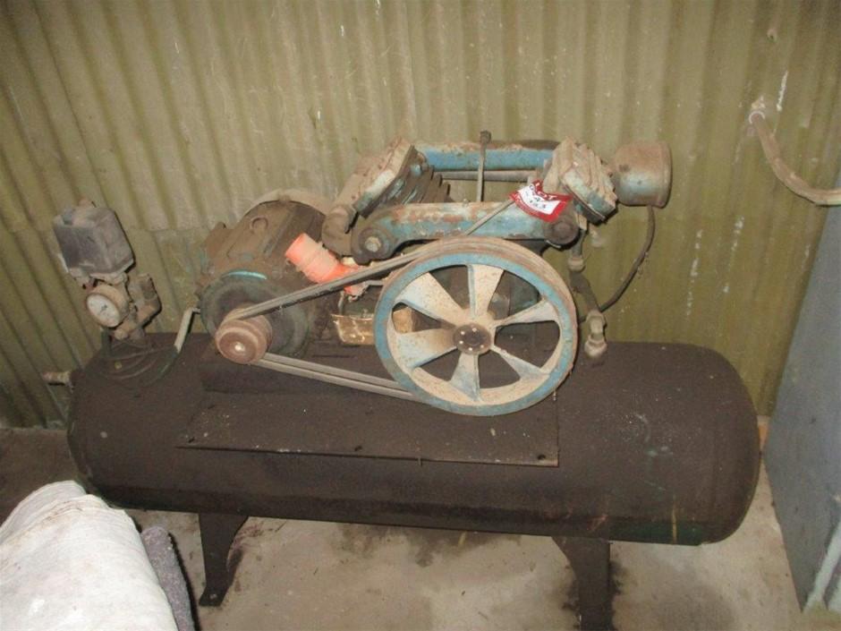 Twin Cylinder Air Compressor