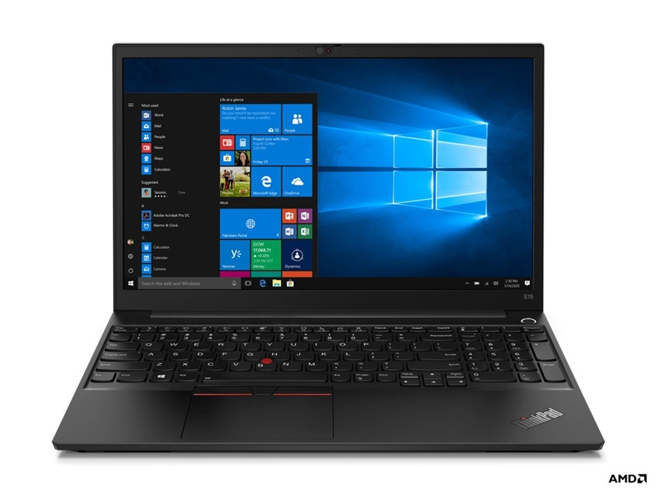 Lenovo ThinkPad E15 Gen2 15.6-inch Notebook, Black